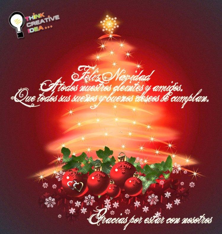 Feliz Navidad para ti...