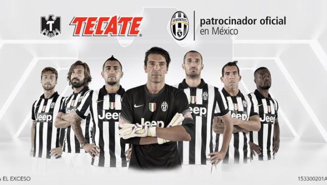 Juventus y Tecate